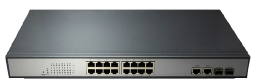 PoE Switch 16 Port 10/100M