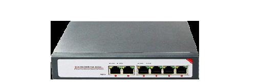 PoE Switch 4 Port 10/100/1000M
