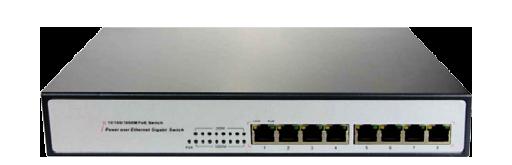 PoE Switch 8 Port 10/100/1000M