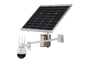 Wireless IP PTZ Solar Panel