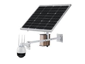 Wireless IP PTZ Solar Panel